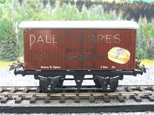 "Horton Series O Gauge Private Owner ""Palethorpes Royal Cambridge"" Van Boxed image 5"