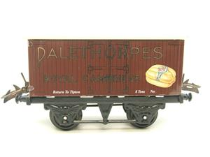 "Horton Series O Gauge Private Owner ""Palethorpes Royal Cambridge"" Van Boxed image 8"