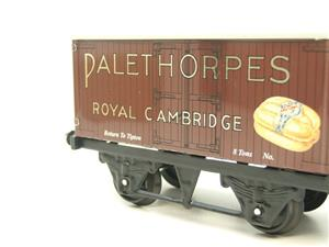 "Horton Series O Gauge Private Owner ""Palethorpes Royal Cambridge"" Van Boxed image 9"
