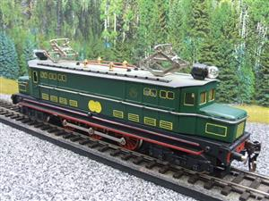 Paya Spain O Gauge 4-6-4 Green Overhead Electric 3 Rail Loco image 3