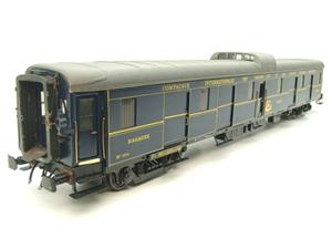 "Elettren O Gauge Cat No: 1303 CIWL ""Baggage Coach"" R/N 1251 Interior Lit image 2"
