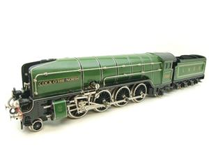 "Hehr O Gauge L70-12920 LNER ""2001"" Cock O The North"" 2-8-2 Loco & Tender Electric 20v 3 Rail image 4"