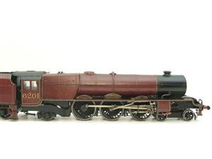 "Brass Kit Built O Gauge LMS Princess Class ""Princess Elizabeth"" R/N 6201 Electric 2 Rail Fine Scale image 4"