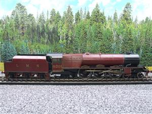 "Brass Kit Built O Gauge LMS Princess Class ""Princess Elizabeth"" R/N 6201 Electric 2 Rail Fine Scale image 9"