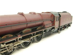 "Brass Kit Built O Gauge LMS Princess Class ""Princess Elizabeth"" R/N 6201 Electric 2 Rail Fine Scale image 10"