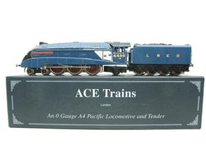 "Ace Trains O Gauge A4 Pacific LNER Blue ""Sir Nigel Gresley"" R/N 4498 Electric Boxed image 1"
