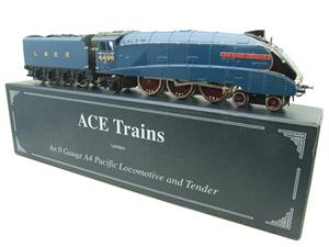 "Ace Trains O Gauge A4 Pacific LNER Blue ""Sir Nigel Gresley"" R/N 4498 Electric Boxed image 4"