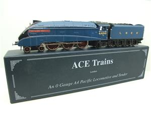 "Ace Trains O Gauge A4 Pacific LNER Blue ""Sir Nigel Gresley"" R/N 4498 Electric Boxed image 7"