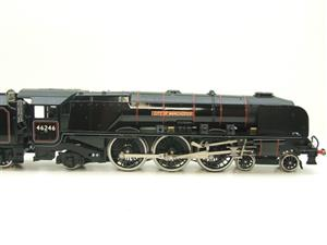 "Ace Trains O Gauge E12S BR Black Duchess Class ""City of Manchester"" R/N 46246 Electric 2/3 Rail Bxd image 4"