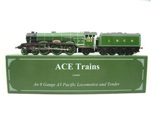 "Ace Trains O Gauge A3 Pacific Class LNER ""Flying Scotsman"" R/N 103 Special Edition Elec 3 Rail Bxd image 1"