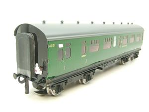 Darstaed O Gauge SR Green Bulleid Corridor Brake End Coach R/N 4301 Lit Interior image 2
