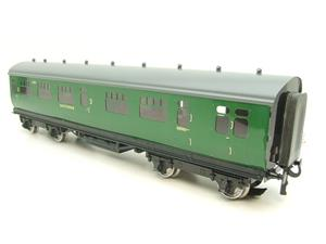 Darstaed O Gauge SR Green Bulleid Corridor Brake End Coach R/N 4301 Lit Interior image 8