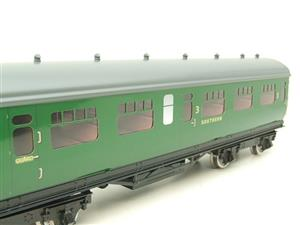 Darstaed O Gauge SR Green Bulleid Corridor Brake End Coach R/N 4301 Lit Interior image 9
