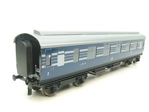 Ace Trains O Gauge C20-A LMS Blue Coronation Scot x3 Coaches 2/3 Rail Set A image 3