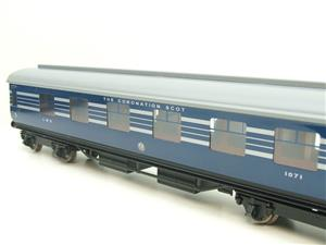 Ace Trains O Gauge C20-A LMS Blue Coronation Scot x3 Coaches 2/3 Rail Set A image 8