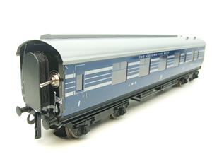 Ace Trains O Gauge C20-A LMS Blue Coronation Scot x3 Coaches 2/3 Rail Set A image 9