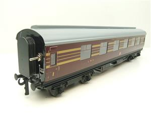 Ace Trains O Gauge C28A LMS Maroon Coronation Scot Coaches x3 Set A Bxd 2/3 Rail Int Lit image 2
