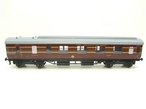Ace Trains O Gauge C28A LMS Maroon Coronation Scot Coaches x3 Set A Bxd 2/3 Rail Int Lit image 5