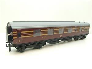 Ace Trains O Gauge C28A LMS Maroon Coronation Scot Coaches x3 Set A Bxd 2/3 Rail Int Lit image 7