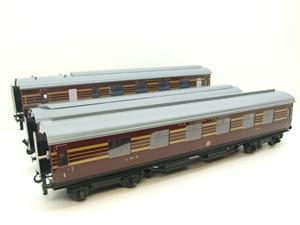 Ace Trains O Gauge C28A LMS Maroon Coronation Scot Coaches x3 Set A Bxd 2/3 Rail Int Lit image 9