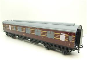 Ace Trains O Gauge C28A LMS Maroon Coronation Scot Coaches x3 Set A Bxd 2/3 Rail Int Lit image 10