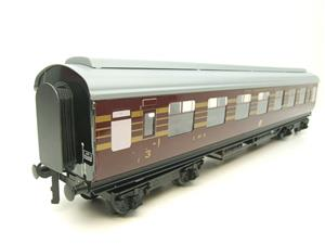 "Ace Trains O Gauge C20-03 LMS Maroon ""Coronation Scot"" Open 3rd Coach R/N 8996 Int Lit Boxed image 2"