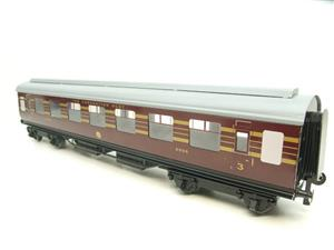 "Ace Trains O Gauge C20-03 LMS Maroon ""Coronation Scot"" Open 3rd Coach R/N 8996 Int Lit Boxed image 3"