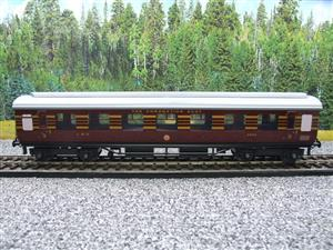 "Ace Trains O Gauge C20-03 LMS Maroon ""Coronation Scot"" Open 3rd Coach R/N 8996 Int Lit Boxed image 5"