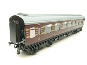 "Ace Trains O Gauge C20-03 LMS Maroon ""Coronation Scot"" Open 3rd Coach R/N 8996 Int Lit Boxed image 6"