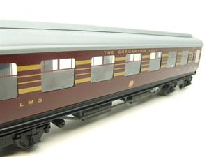 "Ace Trains O Gauge C20-03 LMS Maroon ""Coronation Scot"" Open 3rd Coach R/N 8996 Int Lit Boxed image 9"