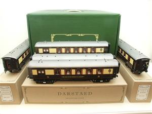 "Darstaed O Gauge ""Brighton Belle"" x5 Pullman Coaches Set Electric 3 Rail Boxed image 1"