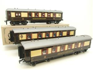 "Darstaed O Gauge ""Brighton Belle"" x5 Pullman Coaches Set Electric 3 Rail Boxed image 2"