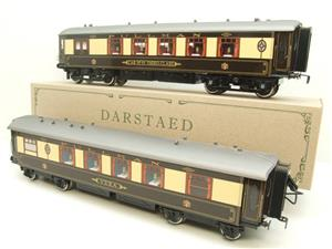 "Darstaed O Gauge ""Brighton Belle"" x5 Pullman Coaches Set Electric 3 Rail Boxed image 5"