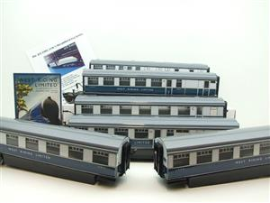 "Ace Trains O Gauge C9 LNER ""West Riding Limited"" Articulated x6 Coaches As NEW Boxed image 1"