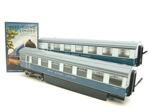 "Ace Trains O Gauge C9 LNER ""West Riding Limited"" Articulated x6 Coaches As NEW Boxed image 3"