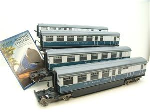 "Ace Trains O Gauge C9 LNER ""West Riding Limited"" Articulated x6 Coaches As NEW Boxed image 7"