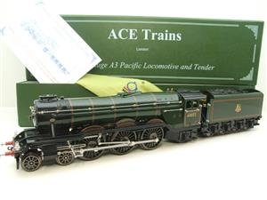 "Ace Trains O Gauge E/6 A3 Pacific Class BR ""Sunstar"" R/N 60072 Electric 3 Rail Boxed image 1"