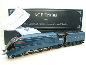 "Ace Trains O Gauge E4 A4 Pacific LNER Blue ""Golden Fleece"" R/N 4495 Electric 3 Rail Boxed image 1"