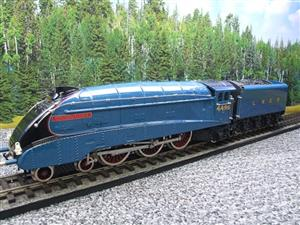 "Ace Trains O Gauge E4 A4 Pacific LNER Blue ""Golden Fleece"" R/N 4495 Electric 3 Rail Boxed image 3"