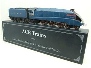 "Ace Trains O Gauge E4 A4 Pacific LNER Blue ""Golden Fleece"" R/N 4495 Electric 3 Rail Boxed image 4"