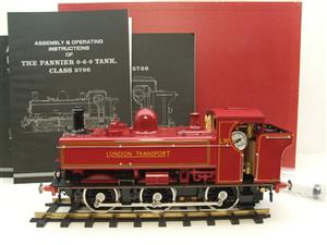 "Gauge 1 Aster ""London Transport"" Class 5700 Pannier Tank Loco L90 Live Steam Boxed image 1"