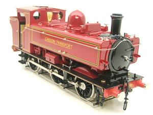 "Gauge 1 Aster ""London Transport"" Class 5700 Pannier Tank Loco L90 Live Steam Boxed image 2"