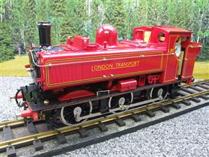 "Gauge 1 Aster ""London Transport"" Class 5700 Pannier Tank Loco L90 Live Steam Boxed image 3"