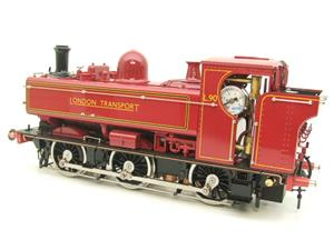 "Gauge 1 Aster ""London Transport"" Class 5700 Pannier Tank Loco L90 Live Steam Boxed image 9"