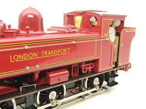 "Gauge 1 Aster ""London Transport"" Class 5700 Pannier Tank Loco L90 Live Steam Boxed image 10"