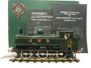 Gauge 1 Aster GWR Green Class 5700 Pannier Tank Loco R/N 6752 Live Steam Boxed image 1