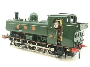 Gauge 1 Aster GWR Green Class 5700 Pannier Tank Loco R/N 6752 Live Steam Boxed image 4