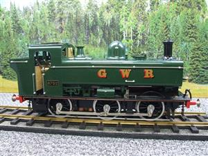 Gauge 1 Aster GWR Green Class 5700 Pannier Tank Loco R/N 6752 Live Steam Boxed image 5