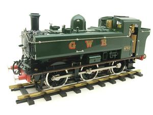 Gauge 1 Aster GWR Green Class 5700 Pannier Tank Loco R/N 6752 Live Steam Boxed image 6