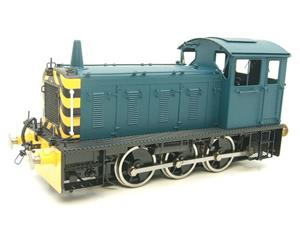 Bachmann Brassworks SanCheng O Gauge 04 Blue Diesel 0-6-0 Shunter Loco Electric 2 Rail Boxed image 3